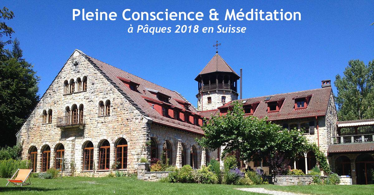 retraite méditation pleine conscience